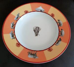 Hermes-Africa-II-Jaune-Plat-Bas-Hermes-Africa-Jaune-Soup-Plaque-Hermes