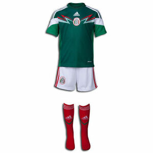 0d5e1ddabac ADIDAS MEXICO MINI KIT FIFA WORLD CUP BRAZIL 2014 2014 15 TODDLER ...