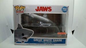 Funko POP! GREAT WHITE SHARK  #758   JAWS    DAMAGED BOX
