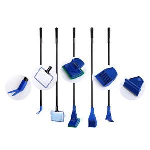 Aquarium-Cleaner-Fish-Gravel-Rake-Algae-Scraper-Brush-Glass-Cleaning-Tool-NEW