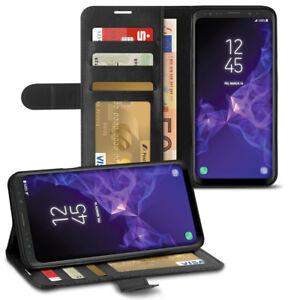 Schutzhülle Samsung Galaxy S9 S8 Plus J6 A6 Note 9 Tasche Handy Hülle Flip Cover