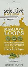 Selective Naturals Meadow Loops Treats for Rabbits with Timothy Hay and Thyme