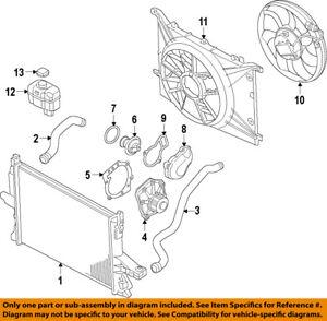 volvo oem 10 16 xc60 engine water pump gasket 30650891 ebay Kia Soul Engine Diagram image is loading volvo oem 10 16 xc60 engine water pump