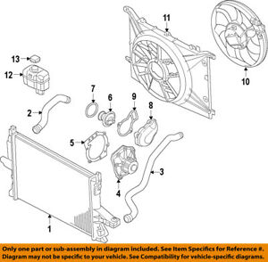 volvo oem 08 16 xc70 engine cooling fan motor 31686808 ebay 2004 volvo xc90 engine diagram image is loading volvo oem 08 16 xc70 engine cooling fan