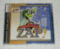 Zap Thinkin' Science Series (pc Cd-rom) Scholastic Series - & Sealed -