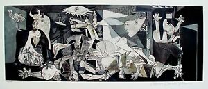 Pablo-Picasso-GUERNICA-Estate-Signed-Limited-Edition-Giclee-Art