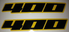 SUZUKI DRZ400 DRZ400S DRZ400 SUPERMOTO SIDE PANEL REAR MUDGUARD DECALS 2