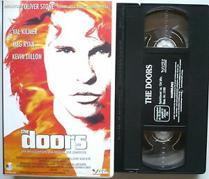 THE-DOORS-Der-Film-VHS-gt-Oliver-Stone-Val-Kilmer-Meg-Ryan-Kevin-Dillon