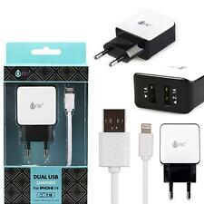 Chargeur Apple double usb 1-2.1A chargeur Iphone 5