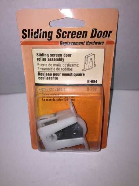 Sliding Screen Door Roller Andersen Doors Patio Wheel Rollers Assembly 2Pcs New