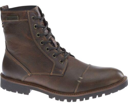 Harley Davidson  New Aldrich Brown Leather Biker  Boots  Rocks