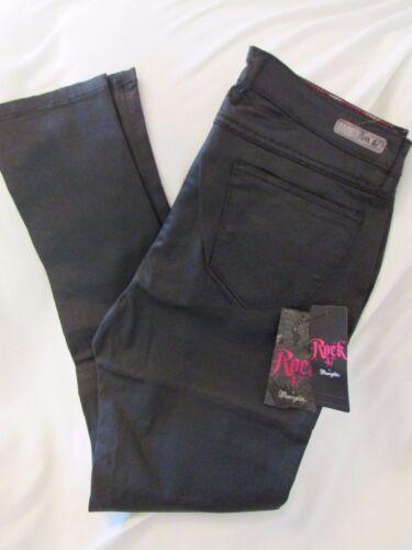 24x29 wrangler vita nero Rock media jeans Ladies taglia skinny a 47 83624173916 patinato xHvH5SX
