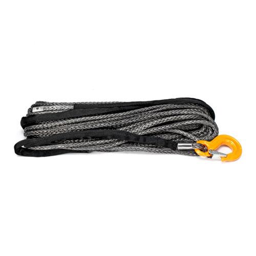 New Warrior Black Edition Synthetic Winch Rope High Molecular Polyethylene