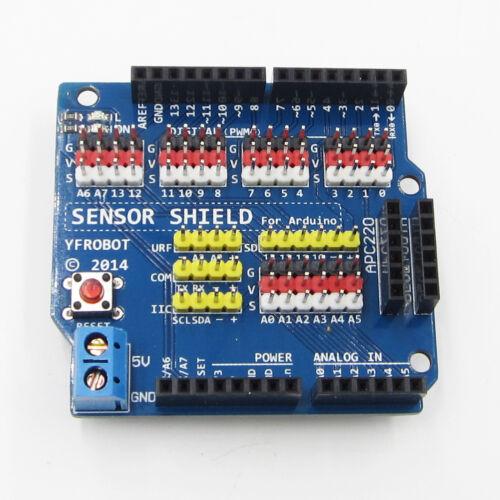Pour Arduino UNO R3 V5.0 Module électrique Capteur Shield Expansion Board Shield 5.0