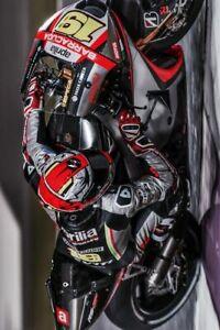PLAQUE MÉTAL  course de moto   30 X 20 CM