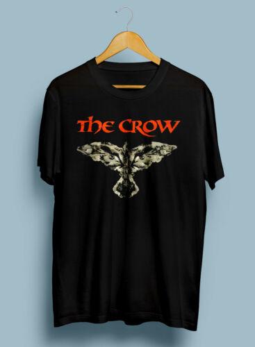 NEW The Crow Movie T Shirt Brandon Lee 1994 Rare Vintage Reprint Size S XXL