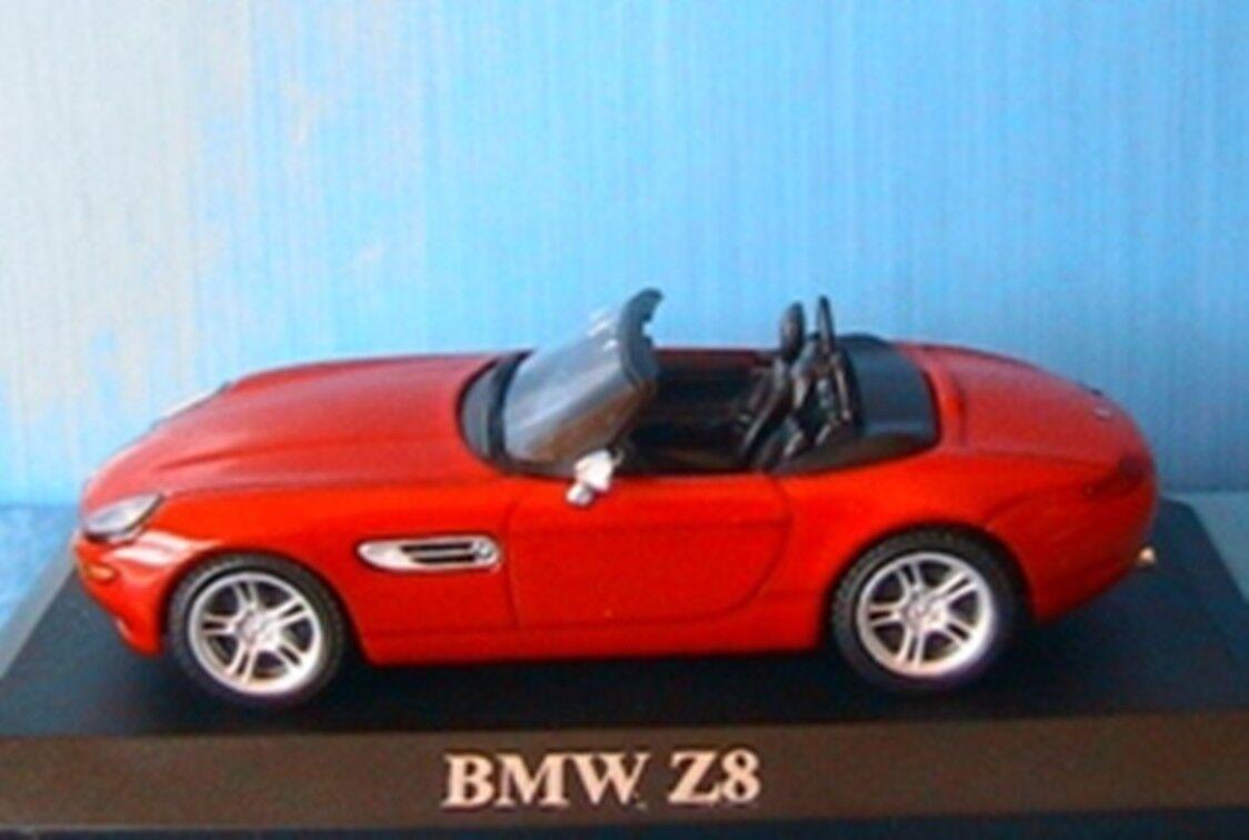 BMW Z8 E52 RODSTER 1999 CABRIOLET 1  43 IXO röd ROUT röd ROSO ALTAYA DIE CAST
