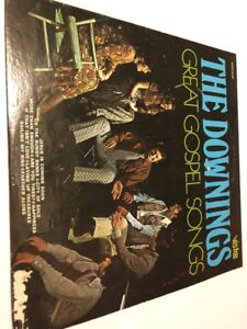 Details about The Downings - Great Gospel Songs LP Vista Records Christian