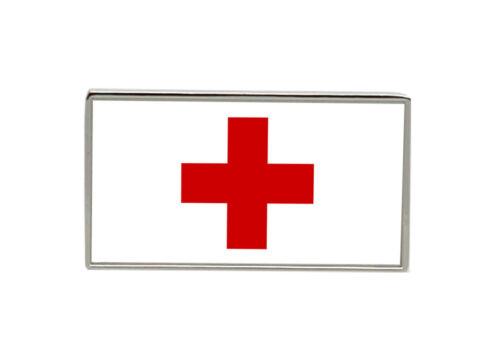 Rot Kreuz Flagge Krawattennadel