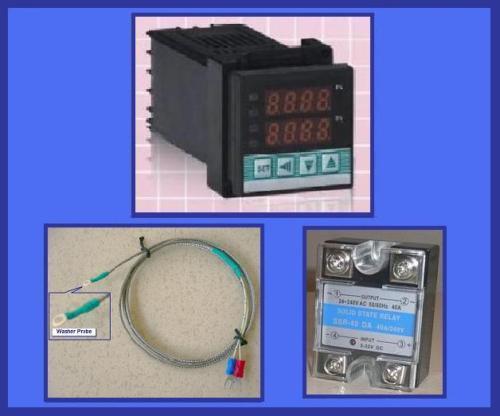 Espresso Coffee Machine Brewing  PID Temperature Controller SSR J Thermocouple