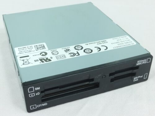 Dell 08RYX9 R1235 3.5 Inches Internal USB 13-in-1 Memory Card Reader//Writer Lt:C
