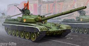 Char Moyen Sovietique T-72b Mbt, 1985 - Kit Trumpeter 1/35 N° 05598