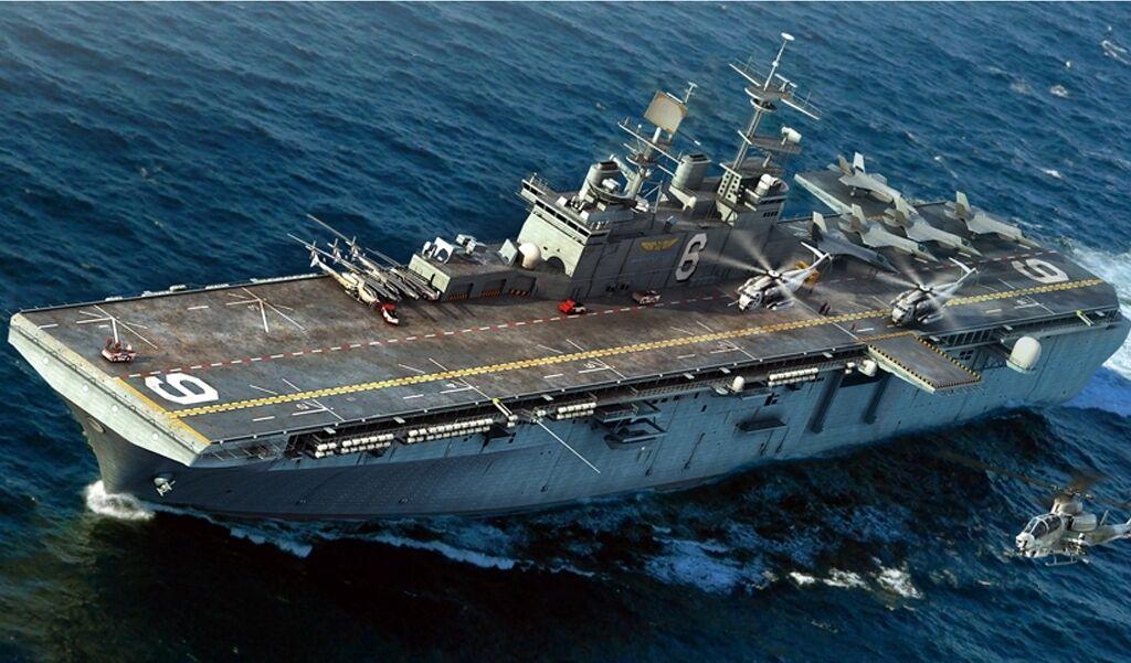 83407 Hobby Boss USS Bonhomme Richard Amphibious Assault Ship 1 700 Warship Kit