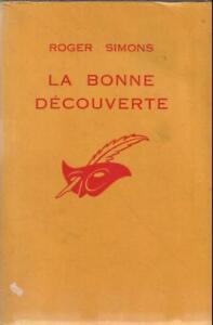 ROGER-SIMONS-LA-BONNE-DECOUVERTE-LE-MASQUE-999