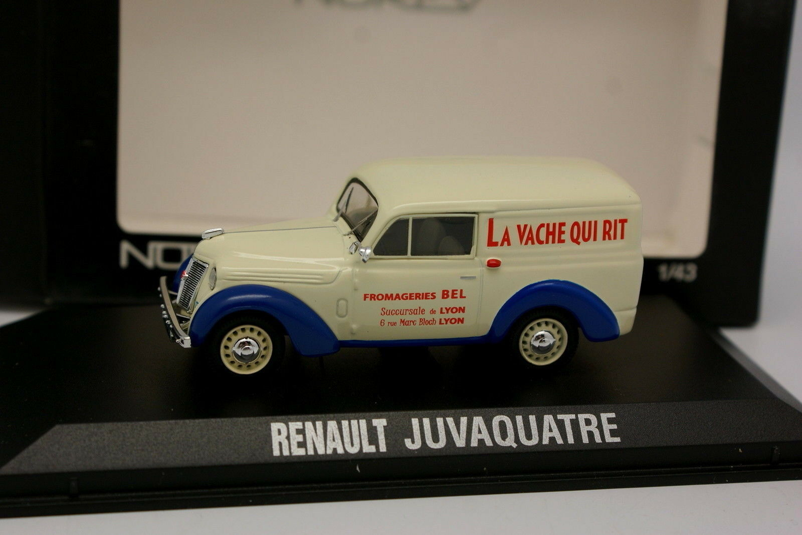 Norev 1 1 1 43 - Renault Juvaquatre La Vache Qui  Rit 3120c3