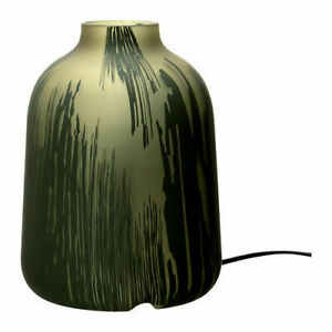 Details About Ikea Koppar Table Lamp Glass Soft Mood Light Olive Green Design Amelia Chong New