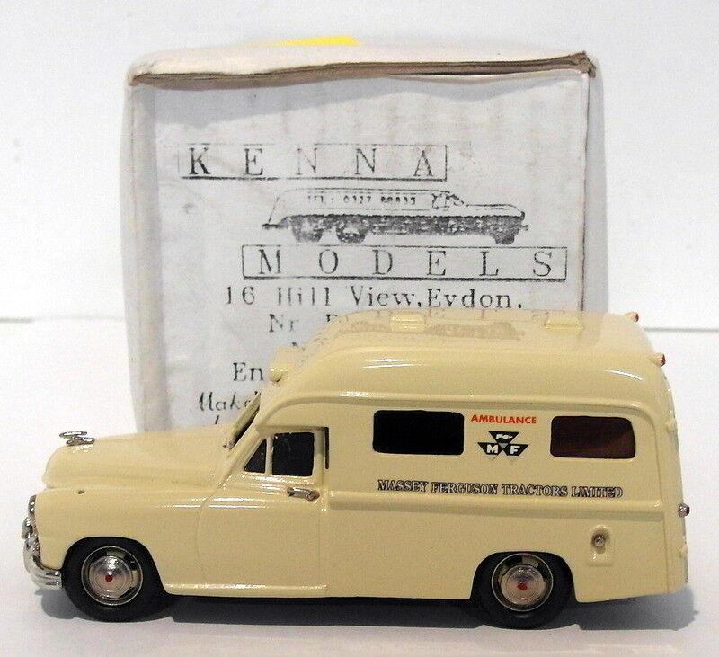 Kenna Models 1 43 Scale - Standard Vanguard Ambulance - Massey Ferguson Tractors