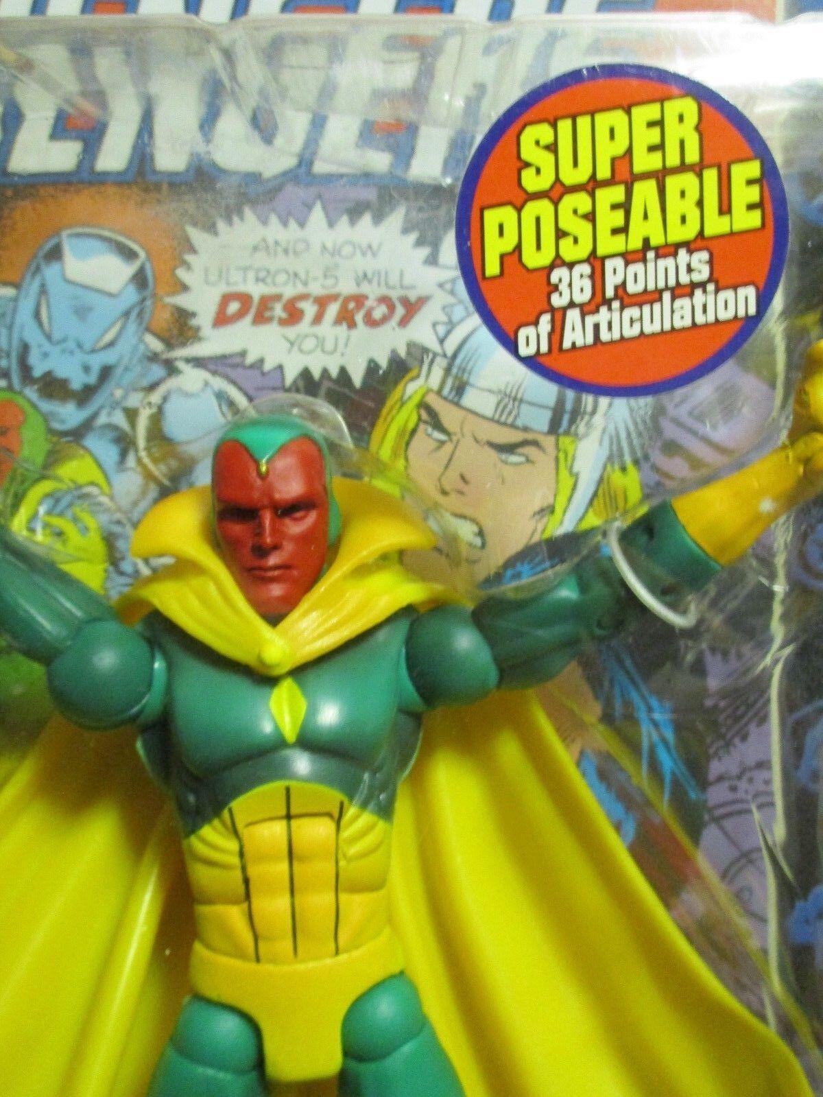 Marvel - legenden der vision - mip.  welle vii spielzeug - geschäft avengers