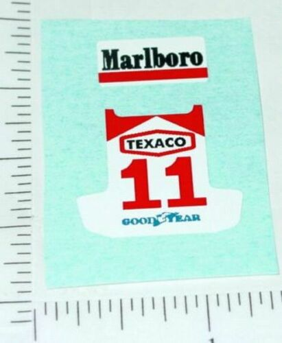 Superfast Matchbox #36 Formula 500 Sticker Set  SF-36C2