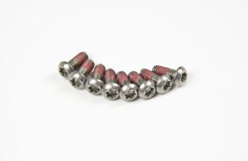 8x de acero inoxidable tornillos Torx de Brembo Pinza Con Placas thread-lock