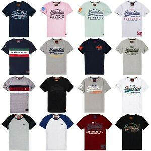 5bb6d5699 Image is loading Superdry-T-Shirts-Superdry-Classic-Graphic-Tees-Premium-