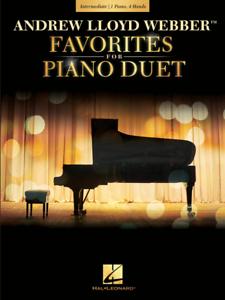 """""""andrew Lloyd Webber Favoris Pour Piano Duet"""" Music Book - 1 Piano 4 Mains-neuf!!!-afficher Le Titre D'origine"""