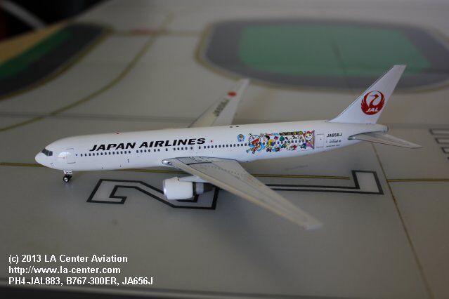 Phoenix - modell japan airlines boeing 767-300 doraemon ein diecast modell 1 400