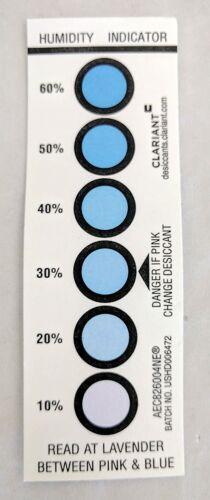5oz or 140g Desi-Pak Bentonite Clay Desiccant with Humidity Indicator 4 packs