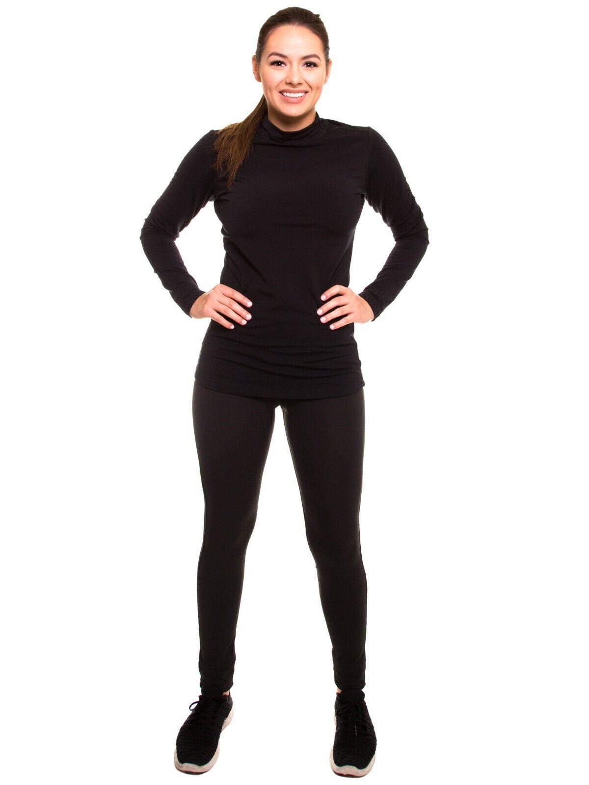 Wouomo Winter Fleeced Yoga Running Workout Pants HighWaist Leggings LL2