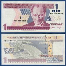 TÜRKEI / TURKEY 1 Lira 2005  UNC  P.216