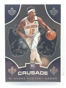 2019-20-Panini-Chronicles-Crusade-516-DeAndre-Hunter-RC-Rookie-Atlanta-Hawks