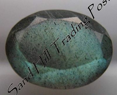 Natural 8x6 Loose Oval Cut 1.24ct Labradorite AAA