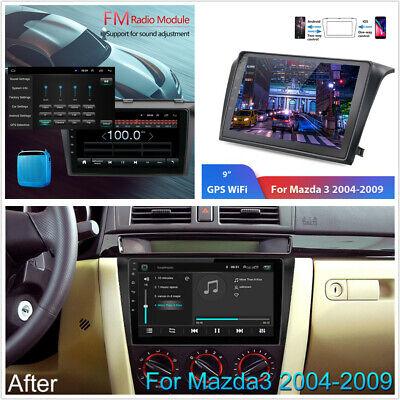 "9/"" For Mazda 3 2004-2009 Android 8.1 Radio Stereo GPS Navigation Player w//Camera"