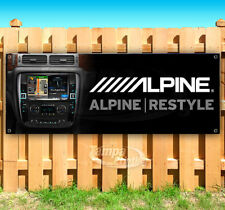 Car Audio Stereo Installation Advertising Vinyl Banner Flag Sign Many Sizes