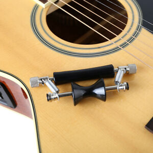 Guitar-Capo-Glider-Metal-Rolling-Wood-Electric-Personality-Sliding-Tuning-F3B2