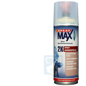 spraymax ep 2k grundierung spraydose schwarz epoxy grundierf ller spr hdose ebay. Black Bedroom Furniture Sets. Home Design Ideas