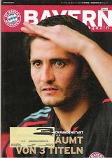 Rivista Baviera 10/56, il Bayern Monaco-Hamburger SV, 21.01.2005