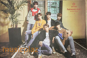 Details about ASTRO AUTUMN STORY- RED VER  POSTER - POSTER ONLY KPOP