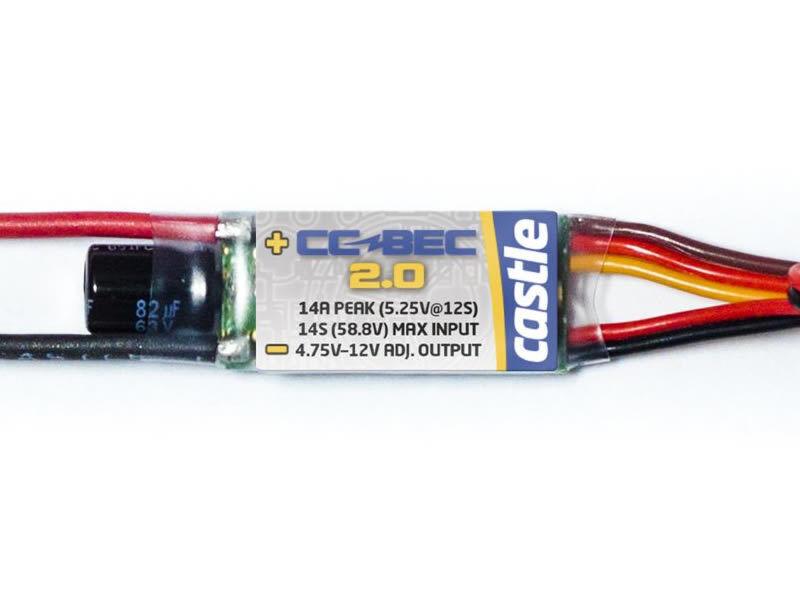 Cc BEC 2.0 - REGOLATORE DI TENSIONE 14 A, 50 V MAX