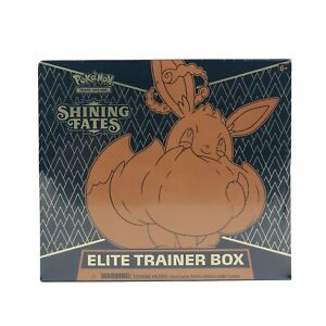 Pokémon TCG: Shining Fates Elite Trainer Booster Box In Hand New And Sealed